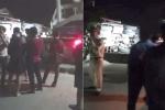 Xe đầu kéo ôm cua lật nghiêng vào nhà dân ở Yên Bái