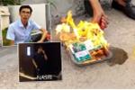 Báo Anh đưa tin fan cuồng tẩm dầu, đốt vé xem Man City