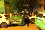 Hiện trường vụ 13 ô tô, xe máy đâm liên hoàn khiến 12 người thương vong ở Sài Gòn