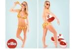Bộ bikini bằng pizza trị giá 10.000 USD khiến ai nhìn cũng phát thèm