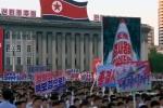Video: Biển người đổ về Bình Nhưỡng phản đối ông Trump
