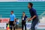 Thua HAGL, HLV Nguyễn Minh Phương ra mắt không ưng ý ở V-League