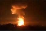 Video: Phòng không Syria đánh chặn tên lửa dội vào Latakia