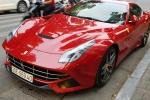 Cận cảnh 'ngựa Ý' Ferrari F12 Berlinetta, giá bán hơn 20 tỷ đồng