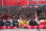 Biển người đổ về Bình Nhưỡng ăn mừng Đại hội Đảng