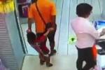 Video: Chơi đùa trong siêu thị, bố ngã đè chết con trai
