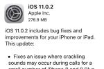 iOS 11.0.2 chính thức được update, sửa lỗi âm thanh cuộc gọi của iPhone 8/8 Plus