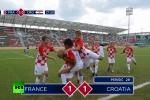 Video: Đội bóng nhí tái hiện chung kết World Cup 2018 cực dễ thương