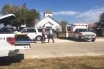 Video: Cảnh sát bao vây hiện trường vụ xả súng đẫm máu ở nhà thờ Mỹ