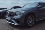 Mercedes-AMG GLC 63 S đọ tốc độ với Porsche Macan Turbo