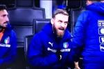 Italia bại trận, De Rossi nổi cáu với HLV: 'Thay tôi vào sân làm gì?