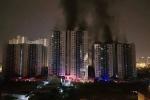 Cháy chung cư Carina ở quận 8 TP.HCM: 'Không có báo động, nóng cả tầng 14 dân mới biết'