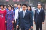 Chủ tịch Hà Nội đặt vòng hoa tưởng niệm tại tượng đài Lê Nin