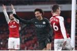 Aubameyang sút hỏng phạt đền, Arsenal thảm bại trước Man City