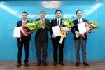 Bộ Thông tin và Truyền thông bổ nhiệm lãnh đạo 3 đơn vị