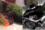 Clip: Thắp hương cúng BMW tiền tỷ mới mua, đốt luôn xe thành đống sắt vụn