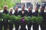 Clip: Cô dâu mặc váy đen trong đám cưới gây xôn xao dư luận