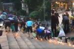 Thực hư thông tin hàng trăm người tranh cướp đồ cúng ở chùa Hương