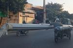 Video: Xe xích lô 'máy chém' lao vun vút trên đường phố Hải Phòng