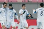 Ket qua Olympic Uzbekistan 3-0 Olympic Bangladesh: DKVD U23 chau A khoi dau nhe nhang hinh anh 1