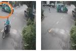 Clip: Đứng đúng điểm mù khi ô tô lùi, cậu bé thoát chết khó tin