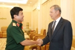 Thượng tướng Võ Văn Tuấn tiếp đoàn Đại học Quốc phòng Mỹ