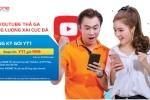 'Điểm danh' các gói 3G/4G đặc biệt truy cập Youtube của MobiFone