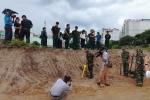 Bắt đầu khảo sát khu vực nghi có hố chôn liệt sĩ tại Tân Sơn Nhất