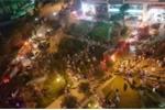 Clip: Cháy Chung cư CT6 Tứ Hiệp - Hà Nội, dân hốt hoảng tháo chạy
