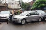 Tai nạn liên hoàn ở Hà Nội: Người phụ nữ thiệt mạng khi đi mua cơm cho người thân