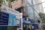 Video: Tòa nhà 8B Lê Trực được bảo vệ chặt chẽ