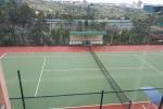 Xây sân tennis hơn nửa tỷ đồng trong trụ sở xã để phục vụ cán bộ