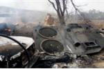 Ảnh, video: Xe tăng Leopard Thổ Nhĩ Kỳ tan tành sau khi trúng tên lửa