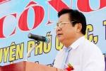 Ông Đinh Khoa Toàn rời chức vụ Chủ tịch huyện đảo Phú Quốc