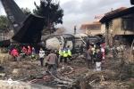 Clip: Hiện trường rơi máy bay chở hàng Boeing 707 khiến 15 người chết ở Iran