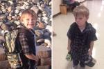 Chùm ảnh vui: Các cục cưng 'sập nguồn' sau ngày đầu tiên đi học