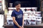 Nam thanh niên mượn ô tô đi từ Hà Nam vào Thanh Hóa trộm 93 thùng sơn