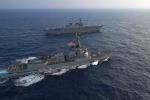 Tàu chiến nườm nượp kéo tới tập trận hải quân RIMPAC