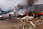 Video: Máy bay chở khách bốc cháy ngùn ngụt sau khi hạ cánh khẩn cấp ở Nga