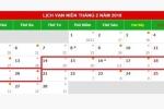 Liên đoàn Lao động ủng hộ nghỉ 2 ngày trước Tết Nguyên đán 2018