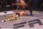 Clip: Nhào lộn trên lưng đối thủ ăn mừng, võ sỹ MMA bị xử thua