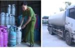 Bắt tại trận cơ sở sang chiết gas trái phép, thu giữ hàng trăm vỏ bình