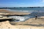 Tạm dừng dự án xả nước thải đen ngòm ra biển Bình Thuận