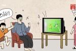 Thế hệ 8X, 9X bồi hồi nhớ thời trốn học, giành nhau tivi xem World Cup