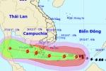 Đêm nay, bão số 16 giật cấp 15 đi qua đảo Trường Sa Lớn