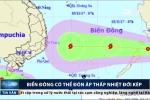 Tin áp thấp nhiệt đới mới nhất: Có khả năng mạnh lên thành bão