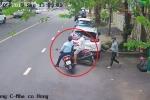 Clip: Bảo vệ khu đô thị ở TP.HCM bắt cướp như phim hành động