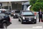Video: Tổng thống Trump rời khách sạn ra sân bay ngay sau khi kết thúc họp báo