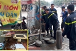 Nổ bình khí ở Yên Bái, 1 người bị thương