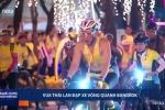 Video: Vua Thái Lan dẫn đầu đoàn đua xe ở Bangkok